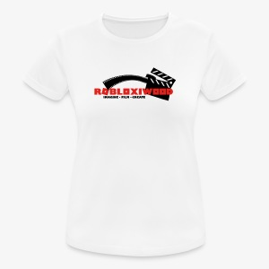 ROBLOXiwood 2017 Logo - Women's Breathable T-Shirt