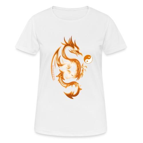 Der Drache spielt mit der Energie des Lebens. - Frauen T-Shirt atmungsaktiv
