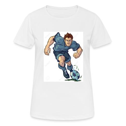 41982995-Vector-de-dibujos-animados-ilustraci-n-de - Camiseta mujer transpirable
