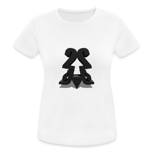 2j_3D - Dame T-shirt svedtransporterende