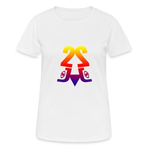2J_LOGO_Beach - Dame T-shirt svedtransporterende