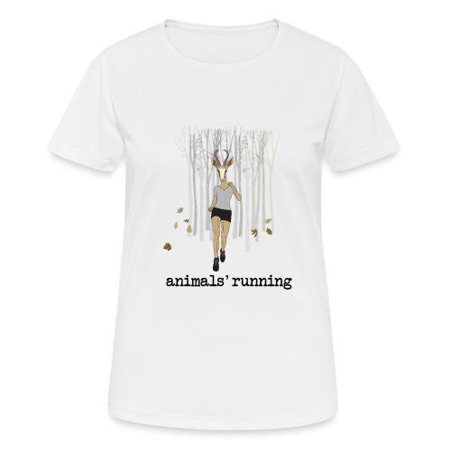 Antilope running - T-shirt respirant Femme