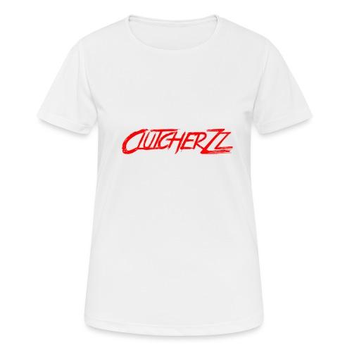 Spreadshirt written logo - T-shirt respirant Femme