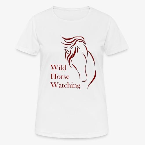 Logo Aveto Wild Horses - Maglietta da donna traspirante