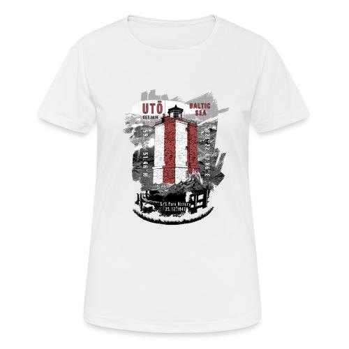 UTÖ majakan upeita tekstiilejä ja lahjatuotteita - naisten tekninen t-paita