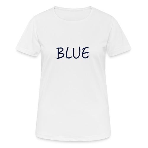 BLUE - vrouwen T-shirt ademend