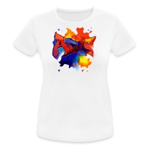 Art graffiti Style - Frauen T-Shirt atmungsaktiv