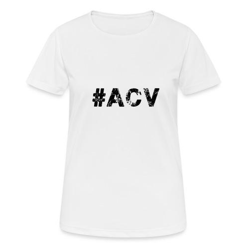 #ACV Logo - Frauen T-Shirt atmungsaktiv