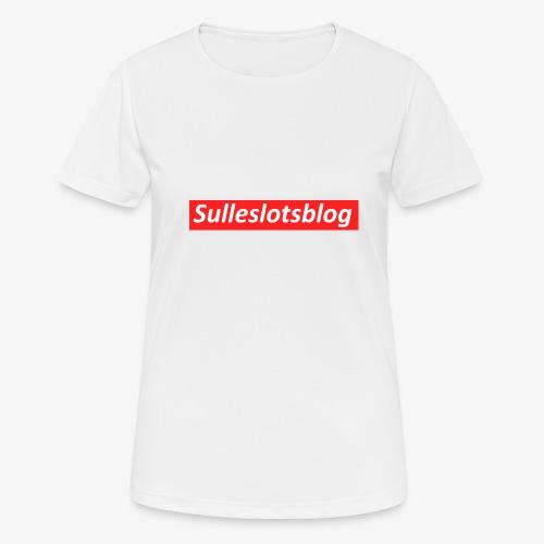 Box logo - Dame T-shirt svedtransporterende