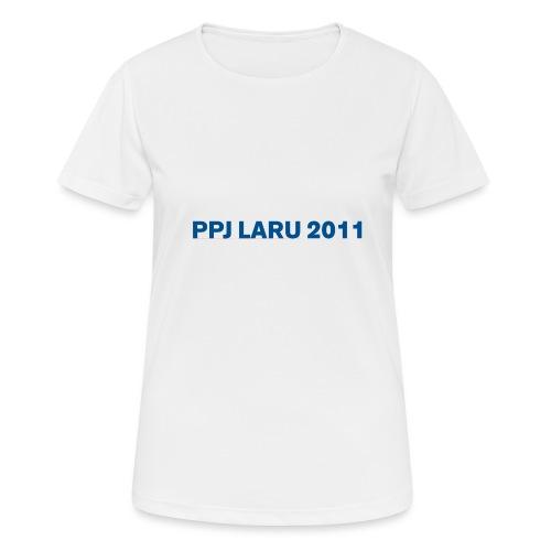 Teksti ilman seuran logoa - naisten tekninen t-paita