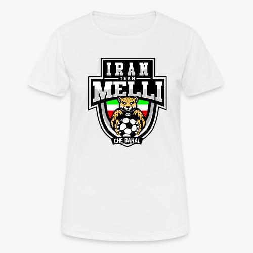 IRAN Team Melli - Frauen T-Shirt atmungsaktiv