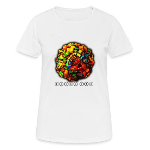 autos retro - Camiseta mujer transpirable