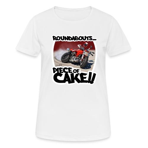 Ducati Monster Skidding - Camiseta mujer transpirable