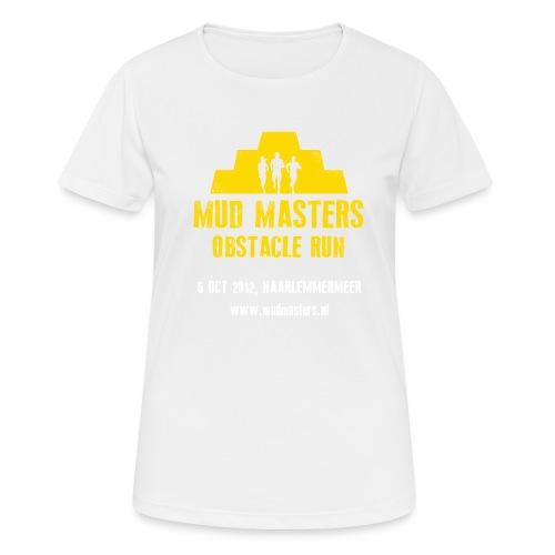 tshirt front - Vrouwen T-shirt ademend actief