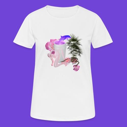Purple Drank - Maglietta da donna traspirante