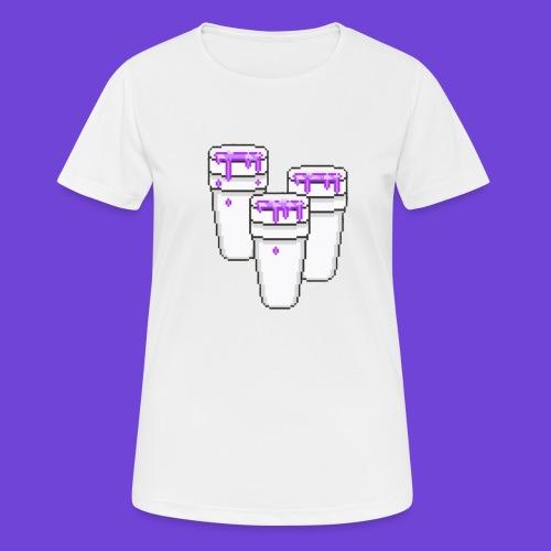 Purple - Maglietta da donna traspirante