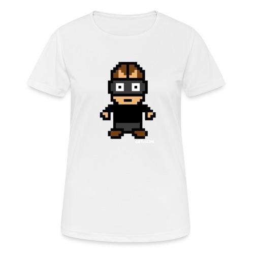 Die Zock Stube - Pixel Patrick - Frauen T-Shirt atmungsaktiv