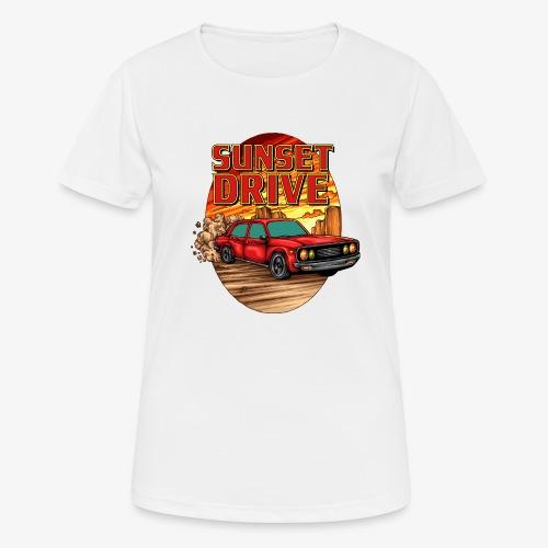 Sunset Drive - Frauen T-Shirt atmungsaktiv