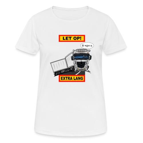 0850 extra lang - Vrouwen T-shirt ademend actief