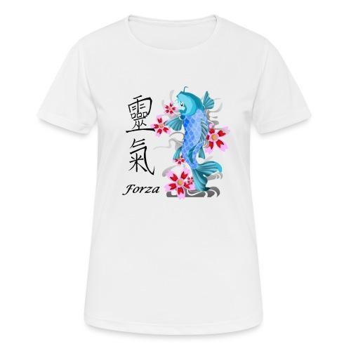 FORZA KANJI - Maglietta da donna traspirante
