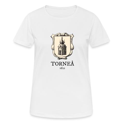 Torneå 1621 - naisten tekninen t-paita