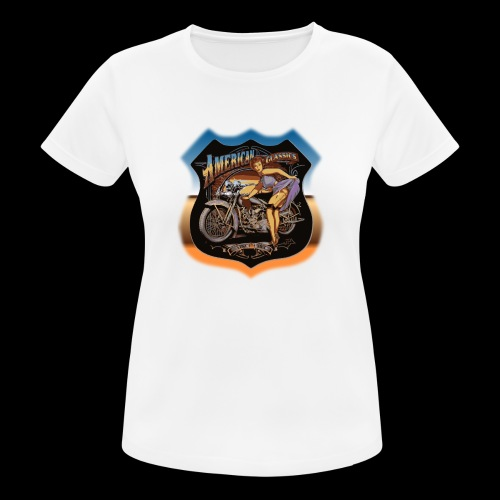 AMERICAN CLASSIC - Frauen T-Shirt atmungsaktiv