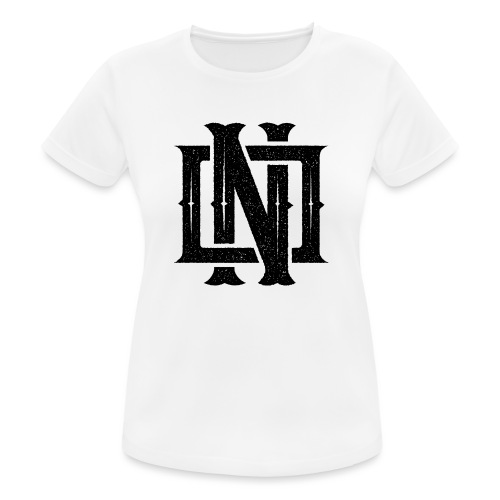 Nineone Monogram NO 01 black - Frauen T-Shirt atmungsaktiv