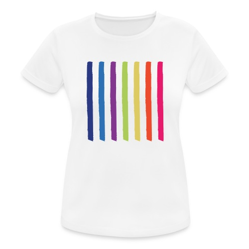 Lines - Women's Breathable T-Shirt