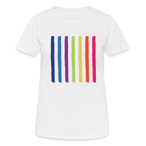 Linjer - Dame T-shirt svedtransporterende