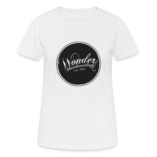 Wonder T-shirt - oldschool logo - Dame T-shirt svedtransporterende