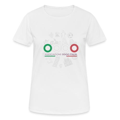 Associazione Odoo Italia - Maglietta da donna traspirante