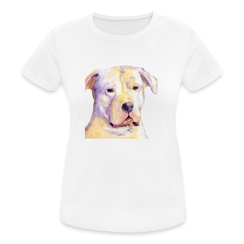 dogo argentino - Dame T-shirt svedtransporterende