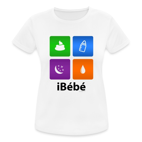 iBébé - T-shirt respirant Femme