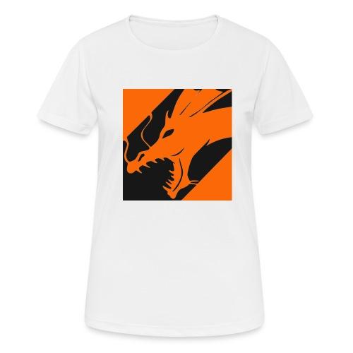 Dragon Orange - vrouwen T-shirt ademend