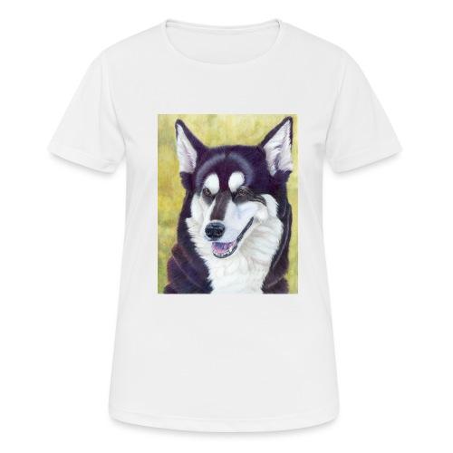 Siberian husky - Dame T-shirt svedtransporterende