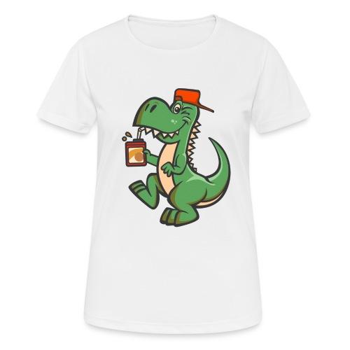 HEMI THE DINOSAUR - naisten tekninen t-paita