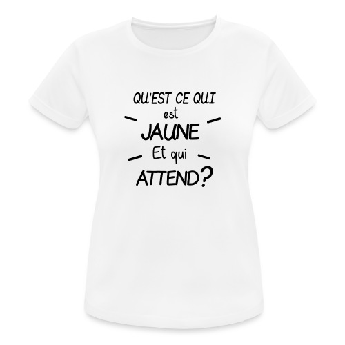 Edition Limitée Jonathan - T-shirt respirant Femme