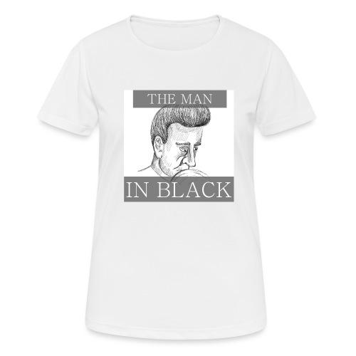 THE MAN IN BLACK - Maglietta da donna traspirante