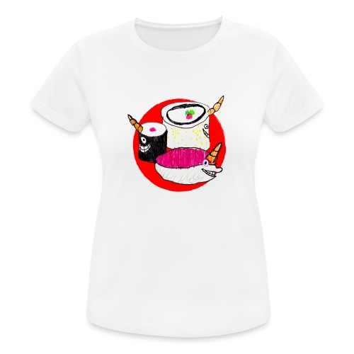 Unicorn Sushi - Women's Breathable T-Shirt