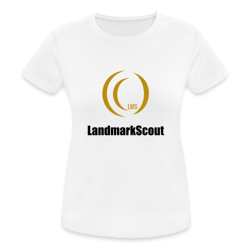Tshirt Yellow Front logo 2013 png - Women's Breathable T-Shirt