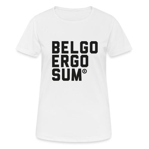 Belgo Ergo Sum - Women's Breathable T-Shirt