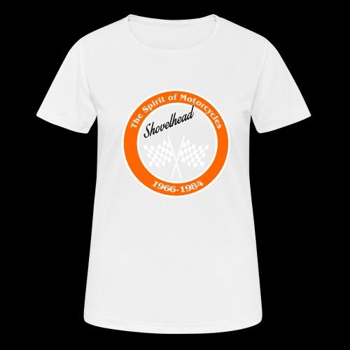 Zielflagge Shovelheat - Frauen T-Shirt atmungsaktiv