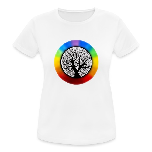 tree of life png - vrouwen T-shirt ademend