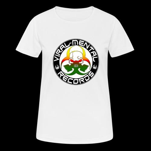 Viral Mental Records Logo - Women's Breathable T-Shirt