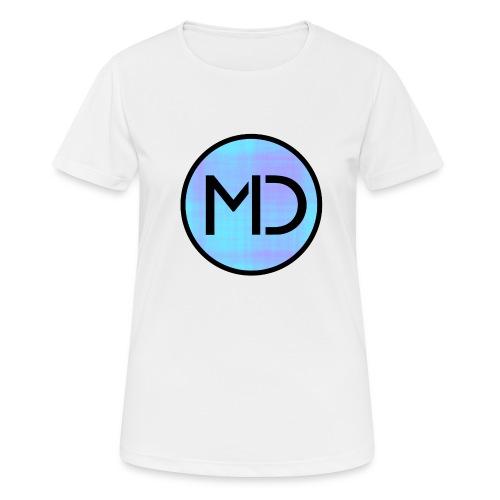 MD Blue Fibre Trans - Women's Breathable T-Shirt