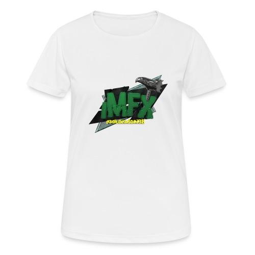 [iMfx] paolocadoni98 - Maglietta da donna traspirante