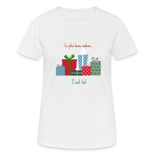 Le plus beau cadeau - T-shirt respirant Femme