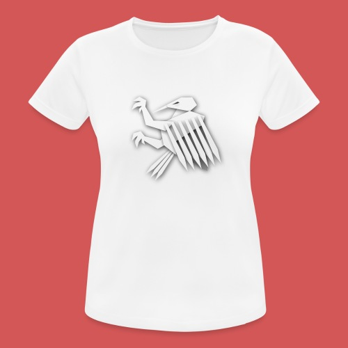Nörthstat Group ™ White Alaeagle - Women's Breathable T-Shirt