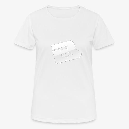 T-Shirt Logo Blues - T-shirt respirant Femme