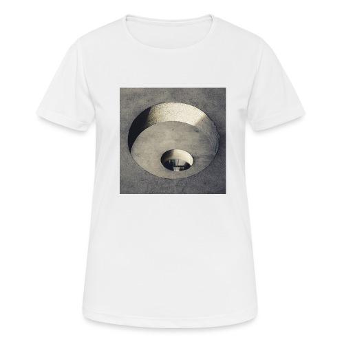 rings of holes - Maglietta da donna traspirante